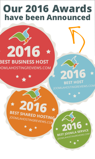 2016 Joomla Hosting Awards have been announced