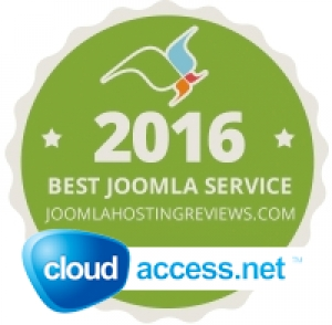 Best Joomla as a Service 2016 -- CloudAccess