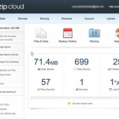 ZipCloud Website Control Panel