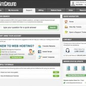SiteGround Support Page