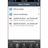 ZipCloud Mobile App Sync