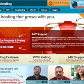 IX Web Hosting Homepage
