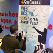 Siteground at the first Joomla World Conference