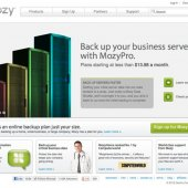 Mozy Homepage