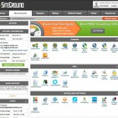 SiteGround cPanel