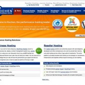 Rochen Hosting Homepage