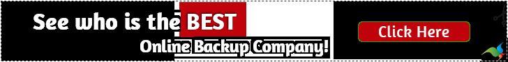Best Online Backup Service