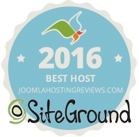 Best Joomla Host 2016 -- SiteGround