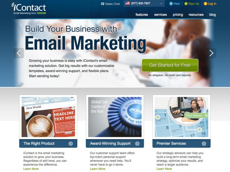 iContact | Newsletter Hosting | All Reviews