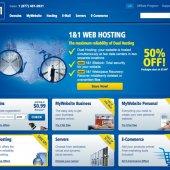 1&1 Homepage